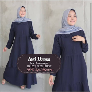 Jual Baju Busana Muslim Lori Dress