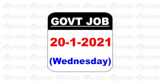 Today Social Welfare Department Jobs 2021
