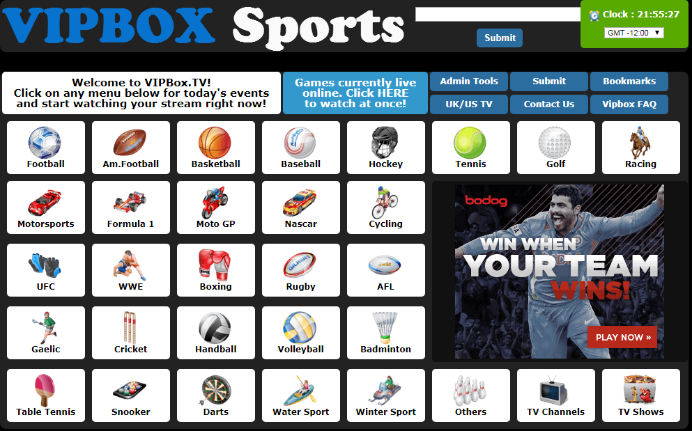 GoATDee Alternative VIPBOX SPORTS
