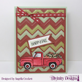 Stamp/Die Duos: Load of Love, Paper Collection:  Retro Christmas, Custom Dies: Chevron Background, Pennant Flags, Double Stitched Pennant Flags