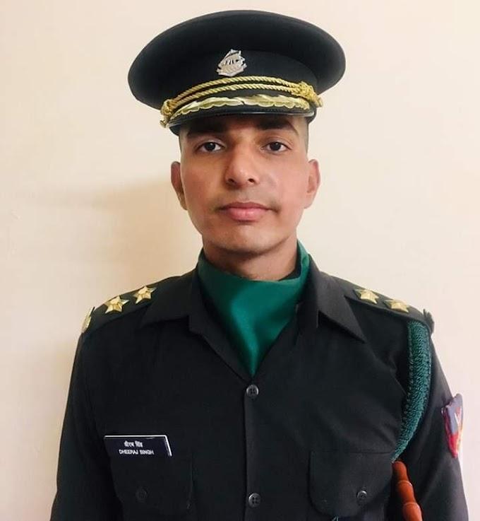 धीरज गुर्जर भारतीय सेना में लेफ्टिनेंट बने ll