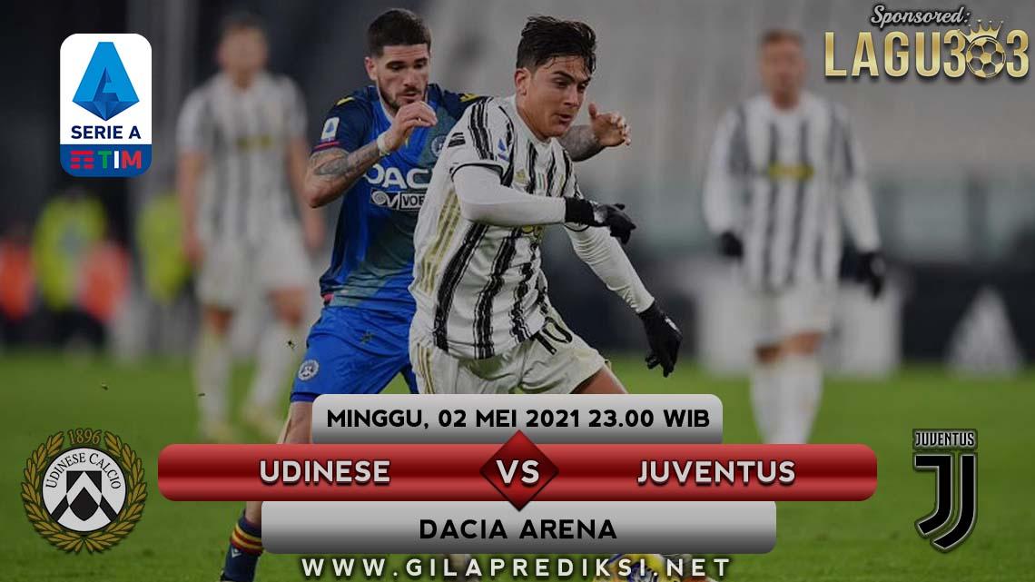 Prediksi Udinese vs Juventus 2 Mei 2021 pukul 23.00 WIB