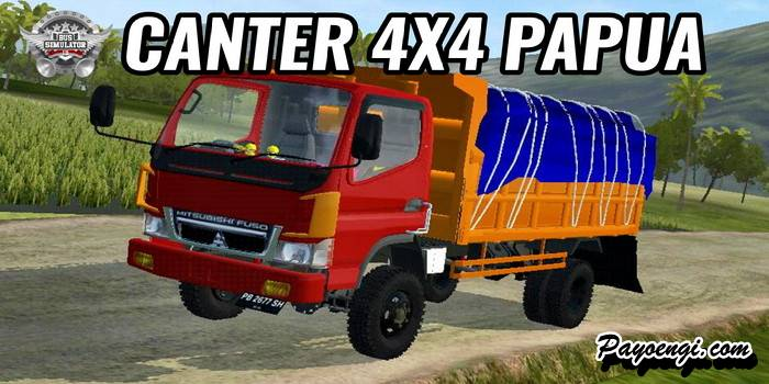 mod truck canter papua