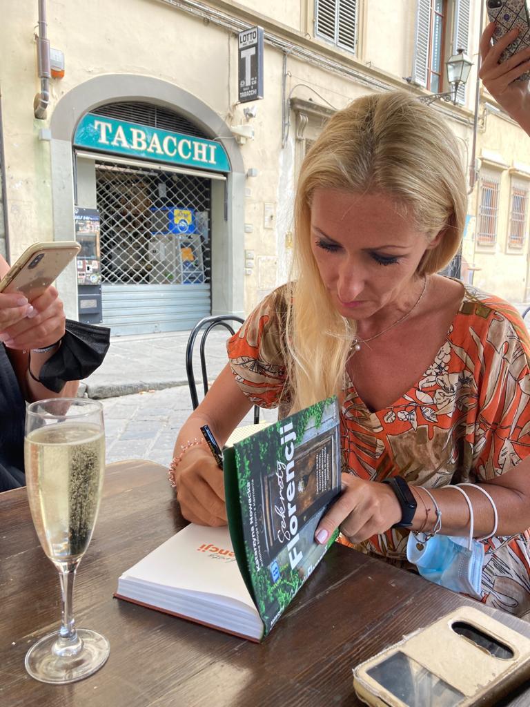 Sekrety Florencji Katarzyna Nowacka, Dom z Kamienia blog