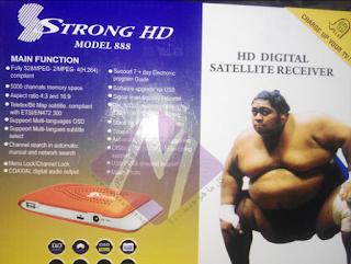 احدث ملف قنوات لرسيفر STRONG HD MODEL 888  بتاريخ 1-5-2019