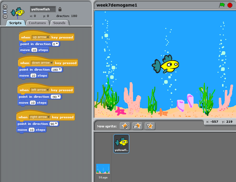 cool games to make on scratch