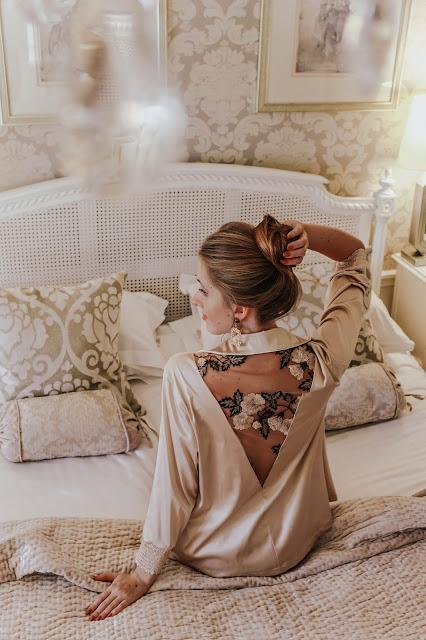 Chite Lingerie fashion blog kimono review