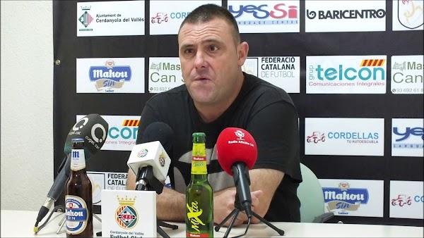 Oficial: El Cerdanyola del Vallès renueva al técnico Toni Carrillo