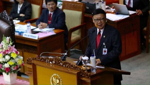 Mendagri: Pj Gubernur Tanggung Jawab Saya, Kapolri Tak Usah Komentar