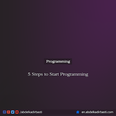 5 Steps to Start Programming