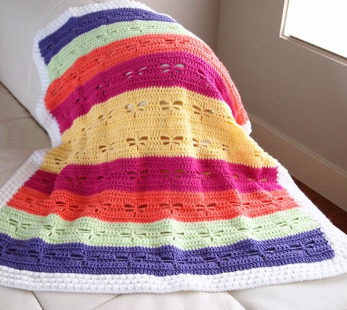Dragonfly Blanket - Free Pattern