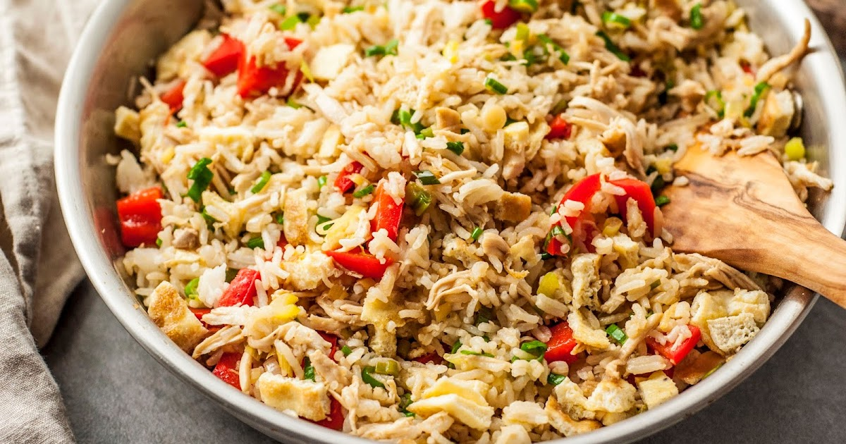 Spicy Cheese Fried Rice