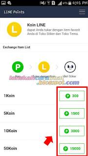 cara mendapatkan koin gratis di line