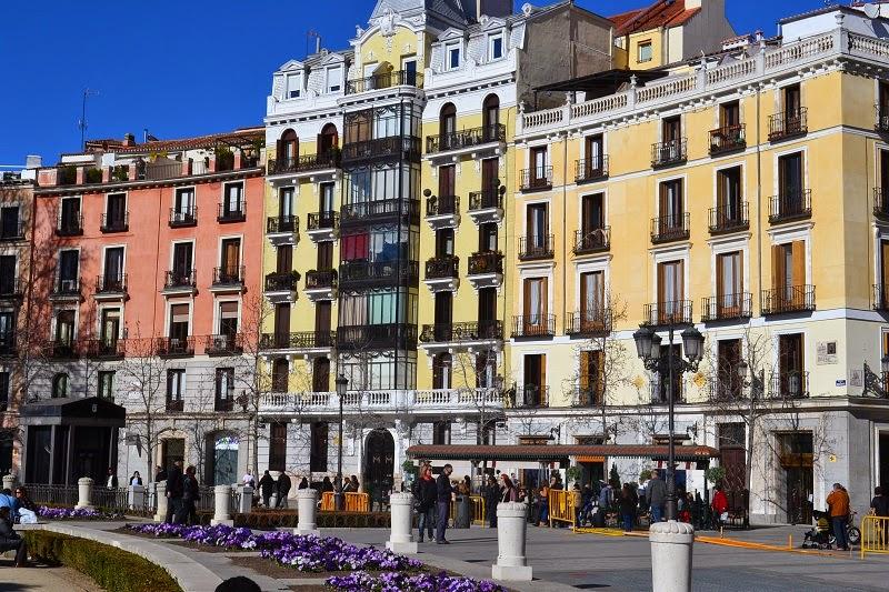 Madrid, Espagne, plaza de Oriente