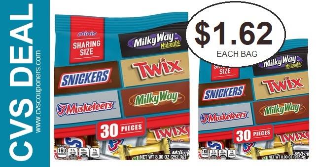 Mars Mini Size Candy Bar Deals at CVS