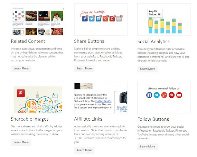 4 sharing widget Media sosial terbaik untuk Blogger