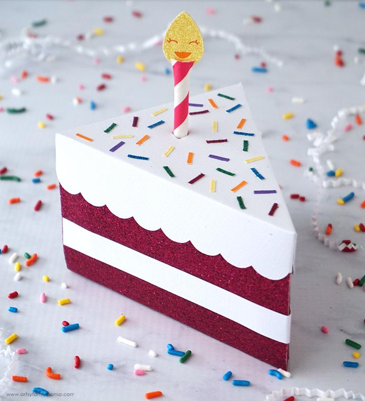 Wondrous Diy Birthday Cake Box Artsy Fartsy Mama Funny Birthday Cards Online Inifofree Goldxyz