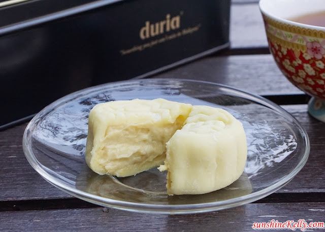 DURIA Musang King Durian Snowy Mooncake Review, 11street, Mooncake Review