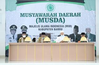 Bupati Barru Buka Musyawarah Daerah Majlis Ulama Indonesia