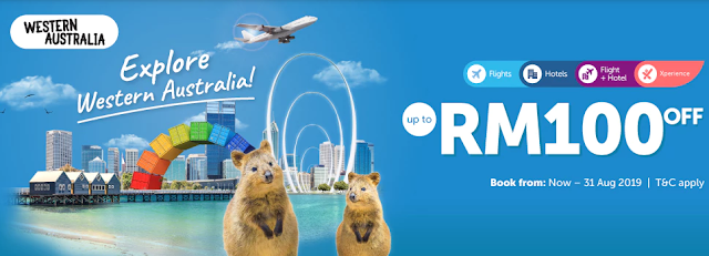 Traveloka promo to Western Australia