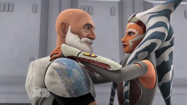 Captain Rex bertemu Ahsoka