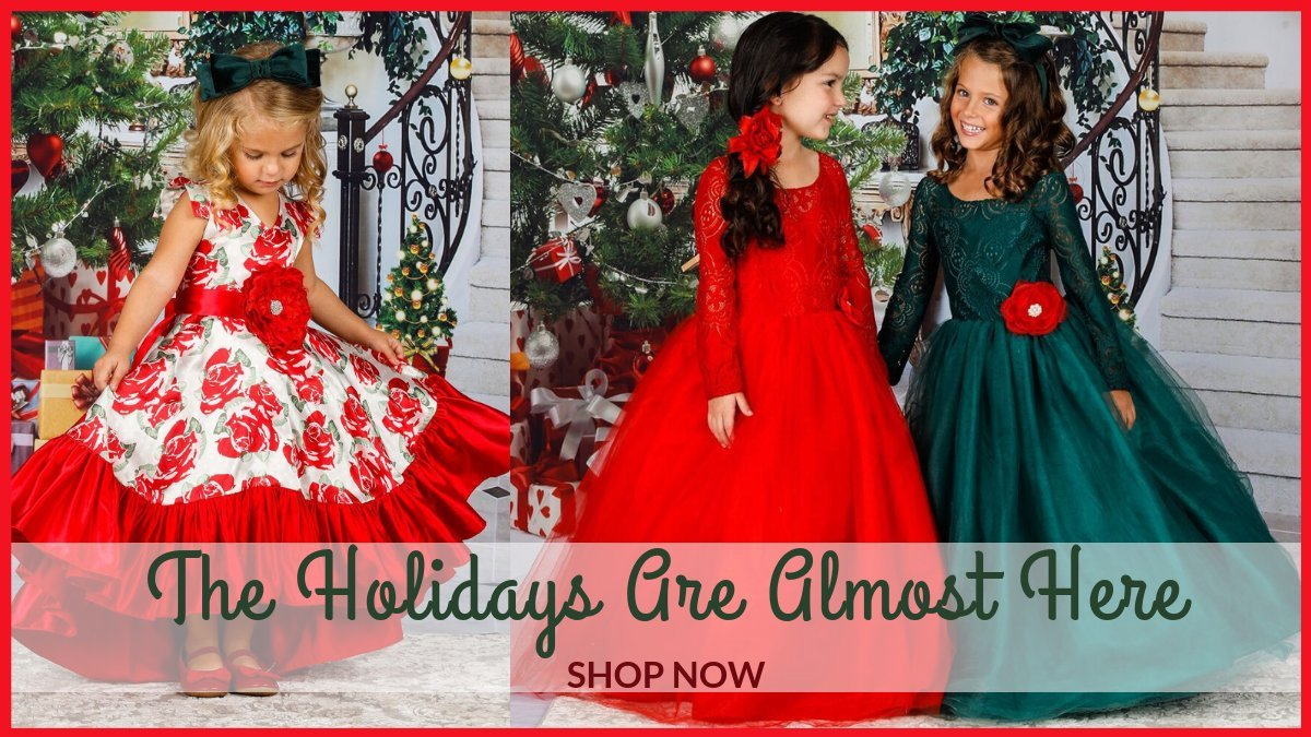 a694d3d452cc0 Dress yourself with beautiful and elegant girls Christmas outfits. We added  Fancy Christmas dresses for girls, Mommy and me Christmas outfits, Girls  holiday ...