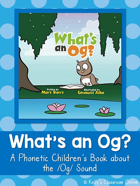 Children will learn to read and practice words with the /og/ sound while reading What's an Og by Mary Barry. Phonics. Rhyming book. Preprimer/Primer.