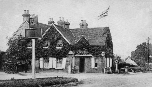 Photograph of Swan Lodge in the 1900s taken by G. Knott digitised by Mike Allen and from the Peter Miller collection