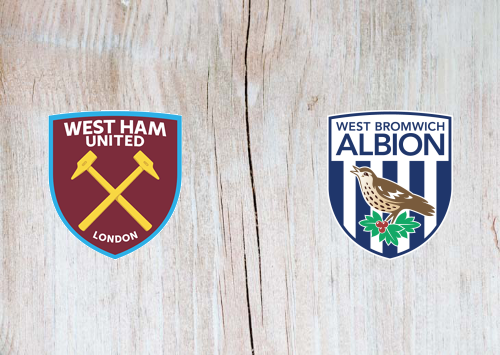 West Ham United vs West Bromwich Albion -Highlights 25 January 2020