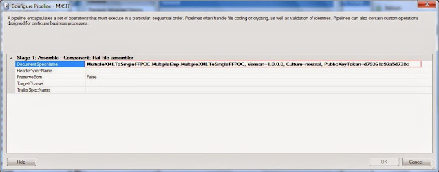 configuring send pipeline