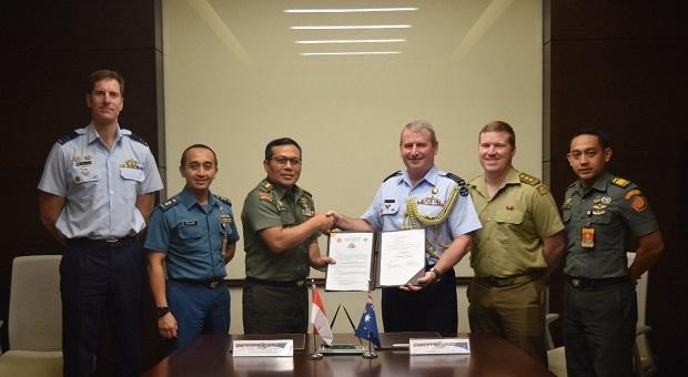 Delegasi TNI dan ADF Melaksanakan IPC Nusa Bhakti Ausindo