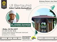 Pesona Syiar Ramadhan 1438H di Masjid UI Depok Rabu 24 Mei 2017 Bersama Aa Gym
