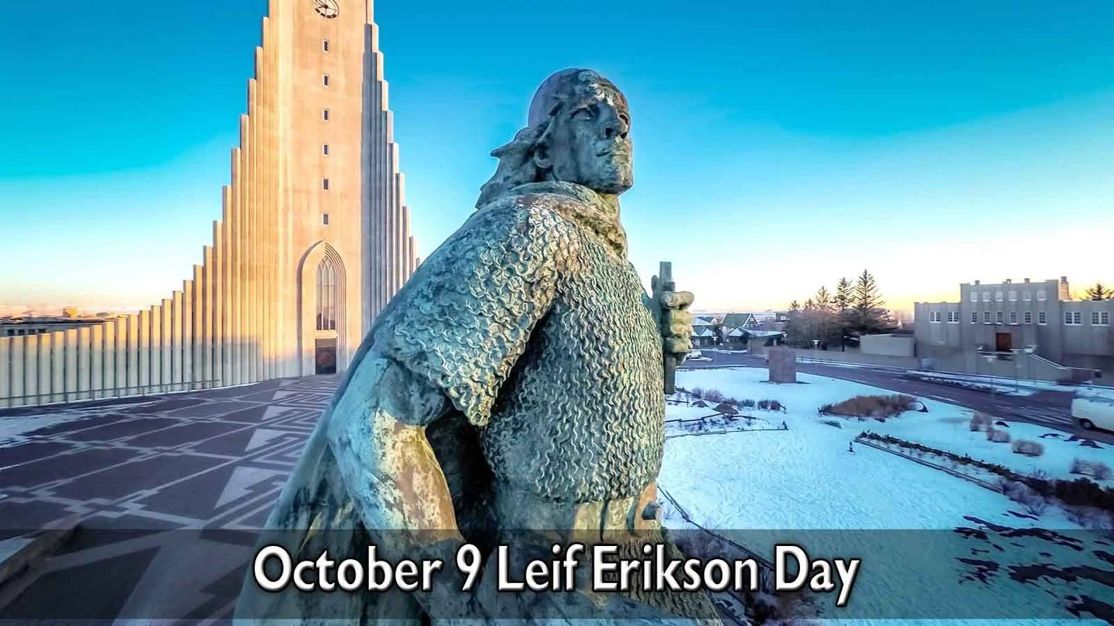 Leif Erikson Day Wishes Images download