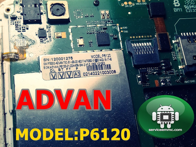 Firmware Advan T5C MODEL P6120 Backup Normal Cm2 DOngle