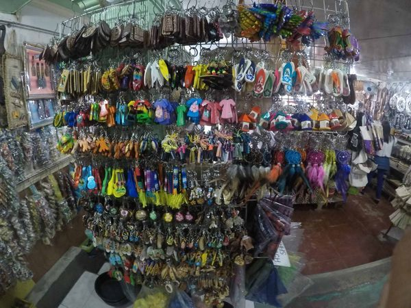 Shopping for souvenirs at Handumanan Souvenir Shop in Dumaguete City