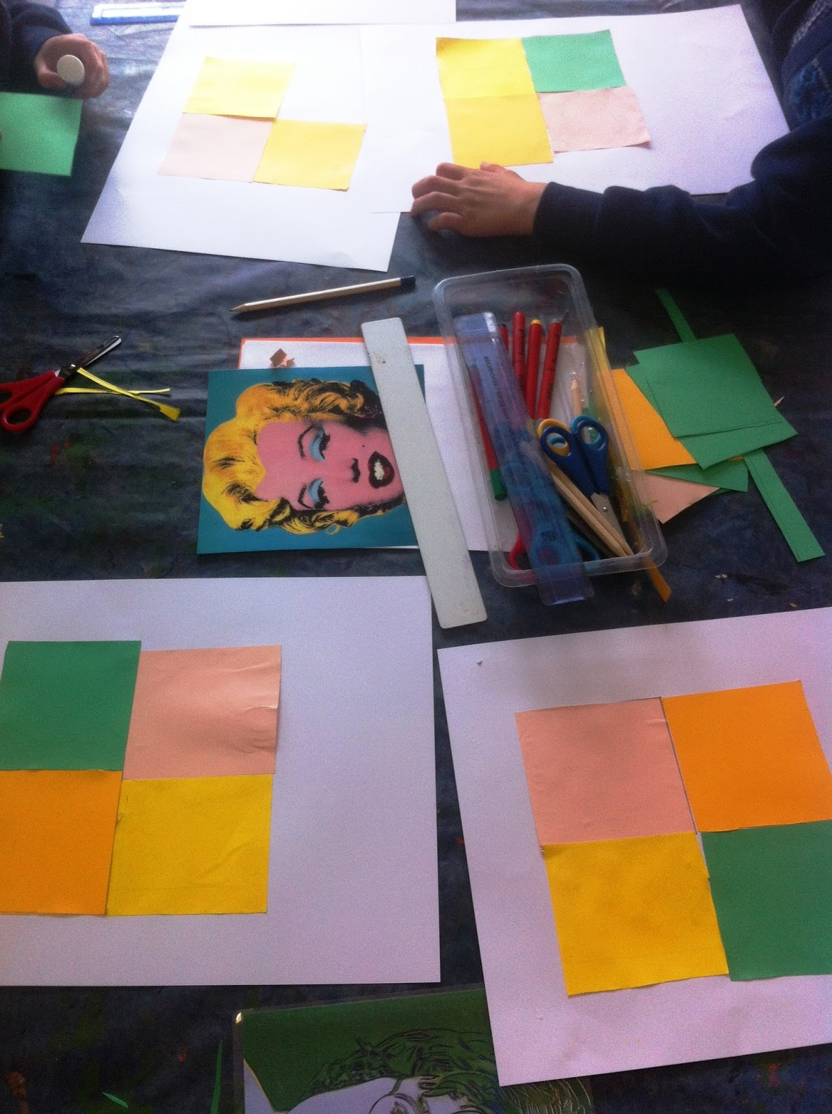 Education At 20 21 Burton Primary Become Andy Warhol