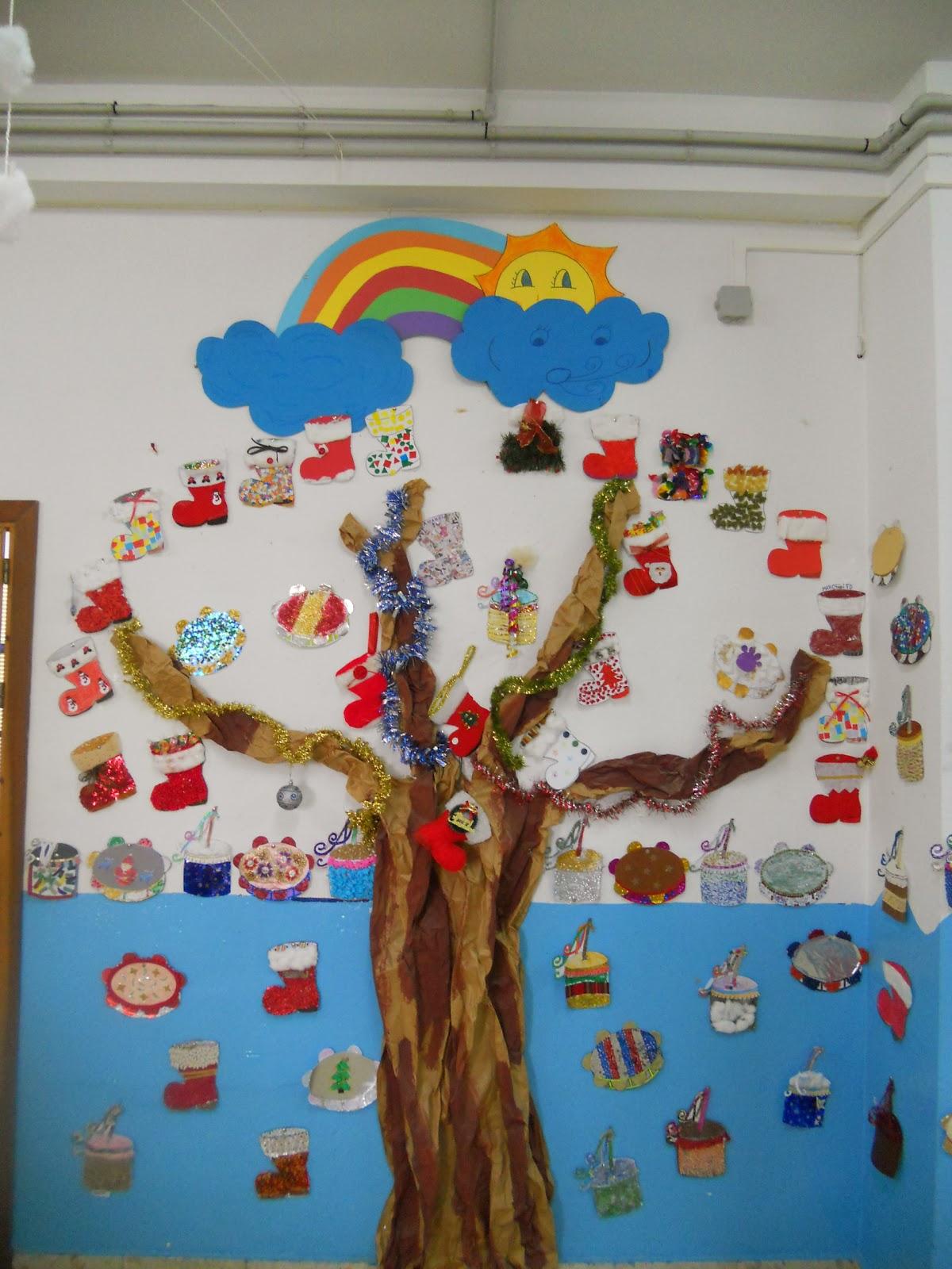 Como Decorar Una Zambomba De Navidad.Escuela Infantil Bilingue Vicente Nacarino Palma Del Rio