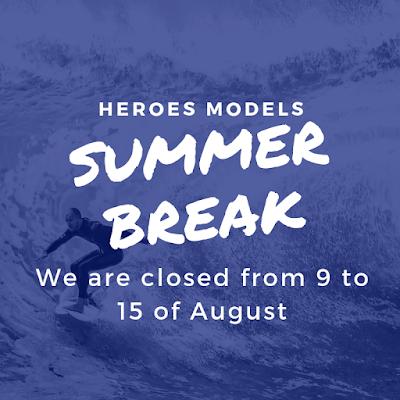 Summer Break from Heroes Models