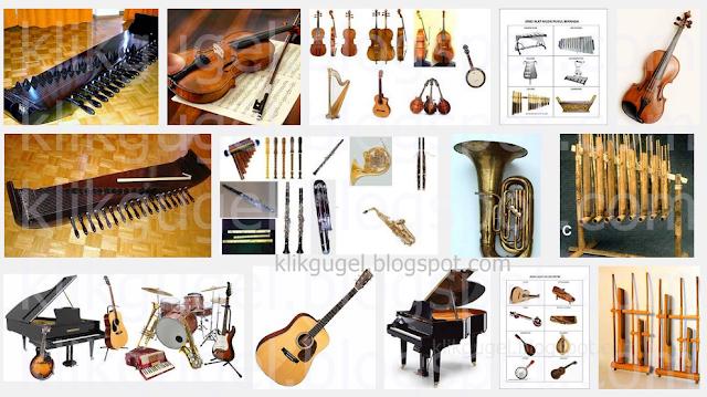 Jenis Jenis Alat Musik