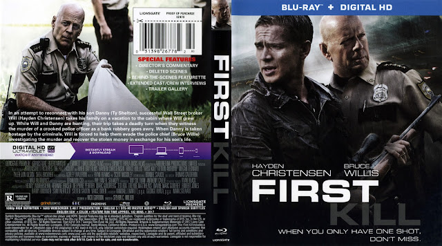 First Kill Bluray Cover