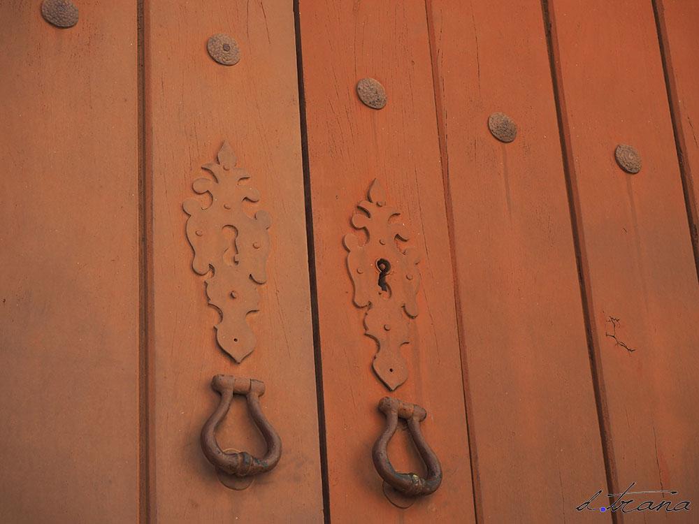 aldaba puerta Catedral de  Silves - Portugal