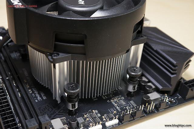 Instalación AMD RYZEN 5 3400G