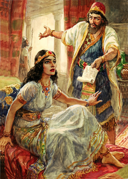 Mordecai was upset, but took his pleas to Esther to help her people.