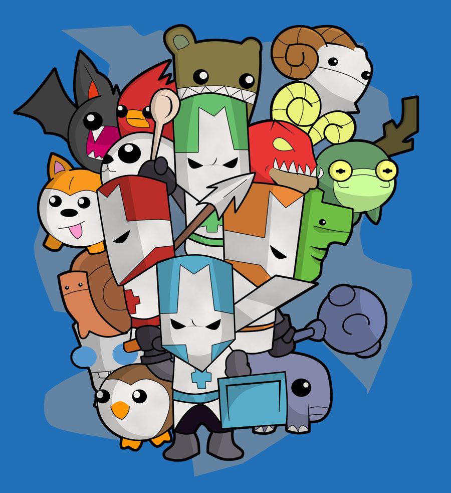 Gafablog: Castle Crashers – Porradeiros em miniatura