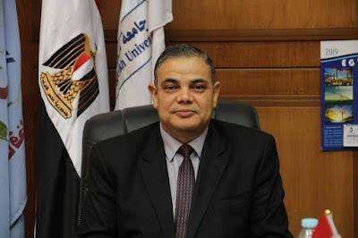 رئيس الجامعة يهنئ الرئيس  السيسي والمصريين بذكرى المولد النبوي