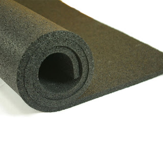 Greatmats plyometric rubber roll 3/8 inch