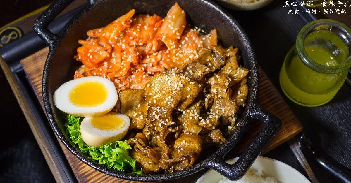 五甲自強夜市裡的平價飽足拉麵丼飯店!【御選日本丼料理】