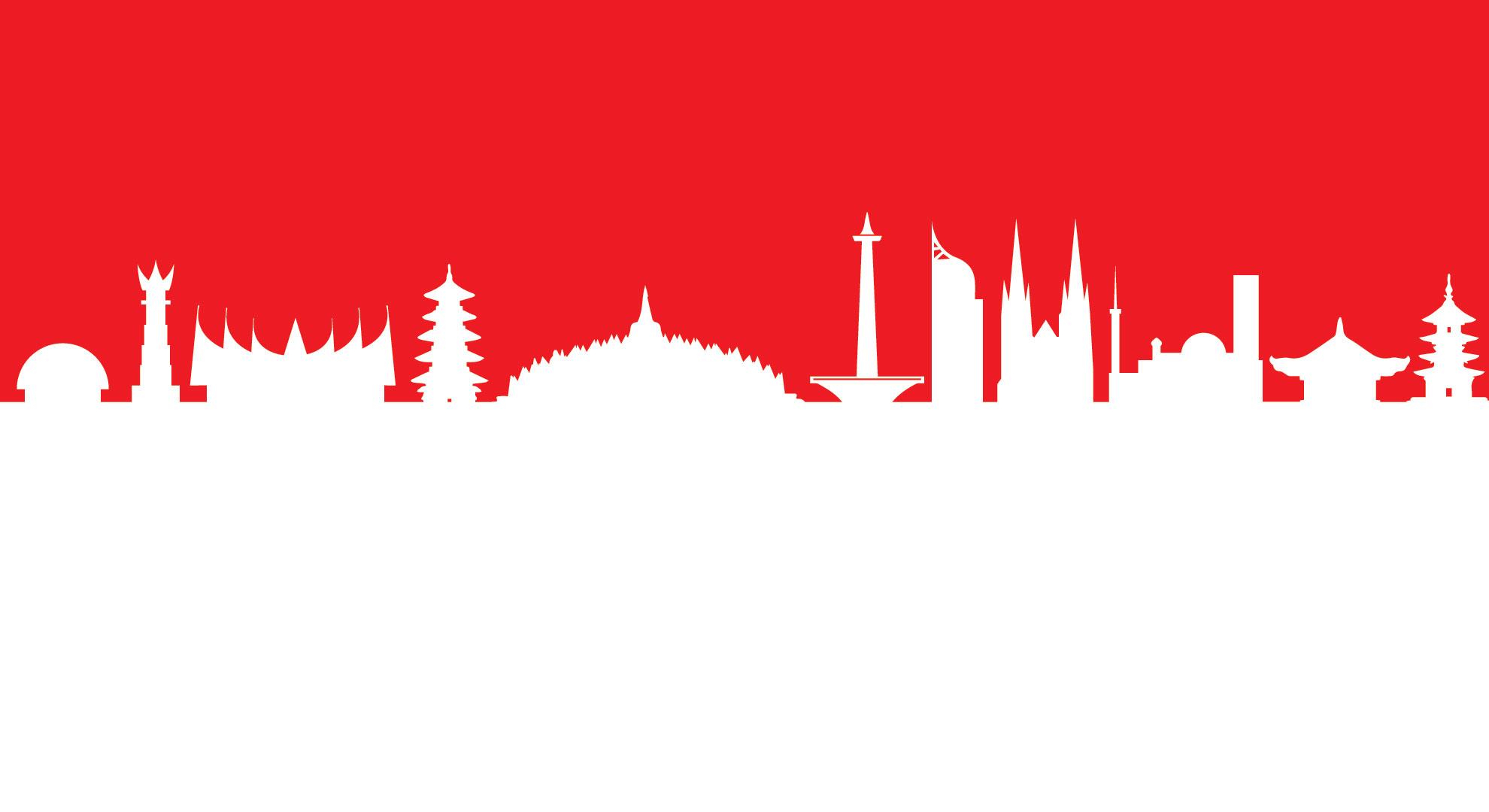 merah putih skyline
