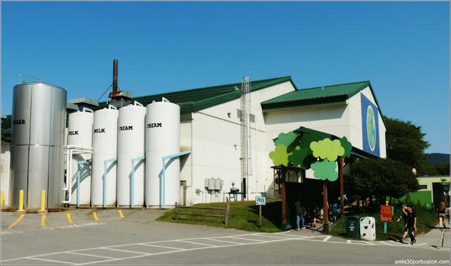Leche, Azúcar y Nata en la Fábrica de Ben & Jerry's en Vermont