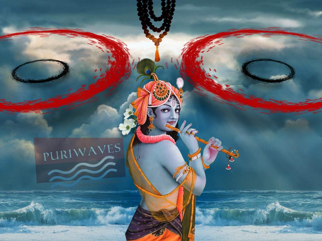 HD Wallpaper – Jaya Krishna Mukunda Murari Namo Namo